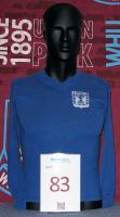 A match exchanged blue Israel Youth International shirt, No.8, exchanged with Martin Peters; Tel Aviv 20 May 1962 England Youth 3 Israel Youth 1, Haifa 22 May 1962 England Youth 1 Israel Youth 2.